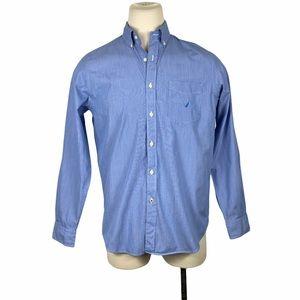 Nautica 80's Two-Ply Cotton Button Down Medium